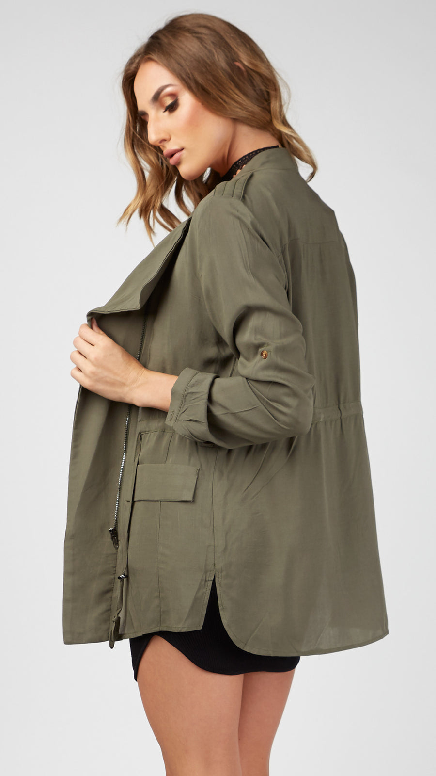 Soft Casual Parka Jacket
