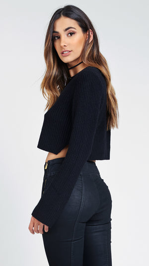 Lana Crop Top Sweater