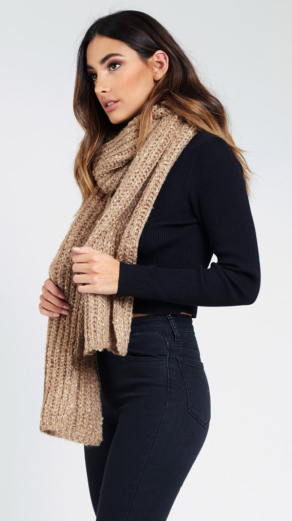 Hooded Sweater Scarf