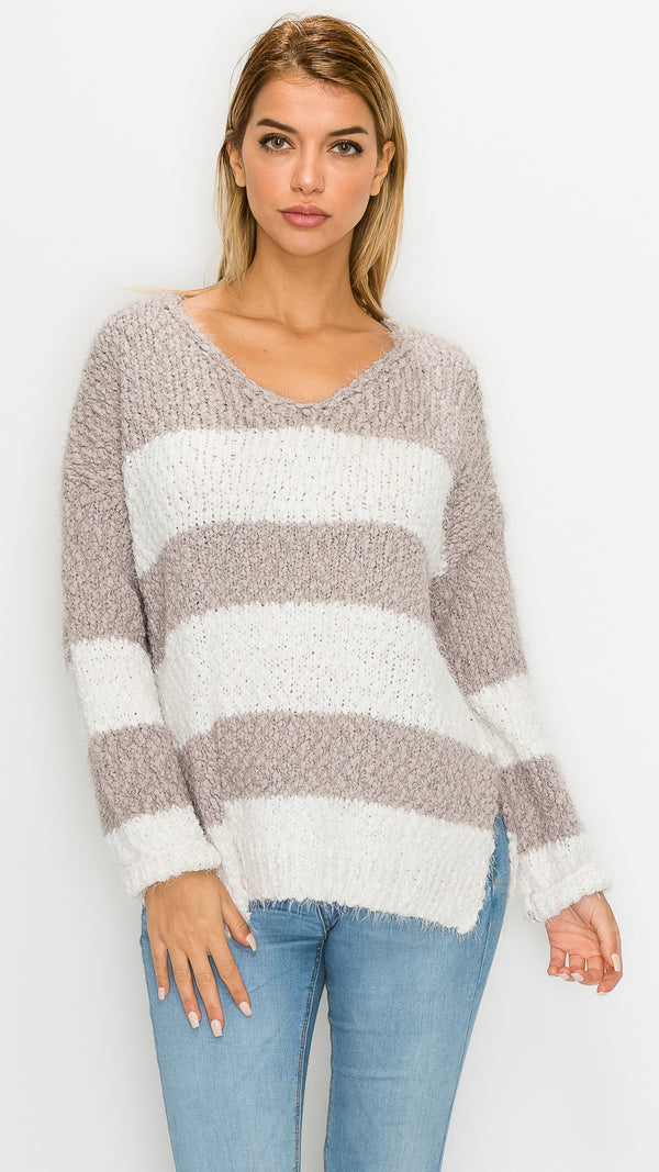 Coco Striped Sweater