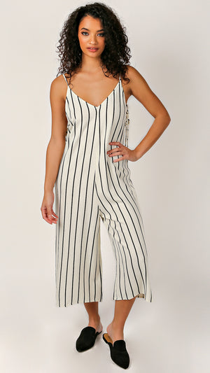 Emily Sleeveless Long Romper