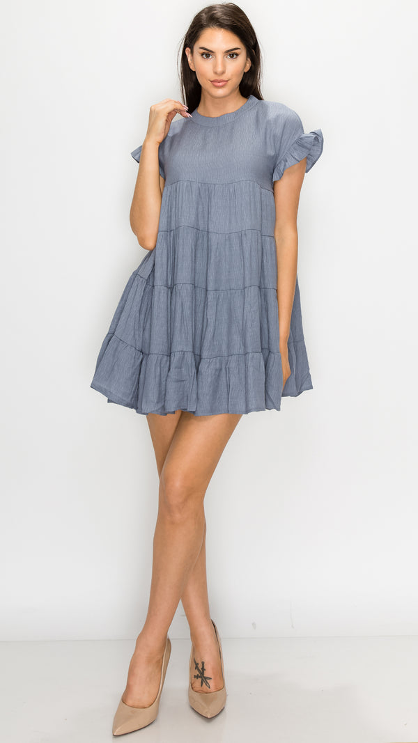 Kelly Casual Babydoll Dress