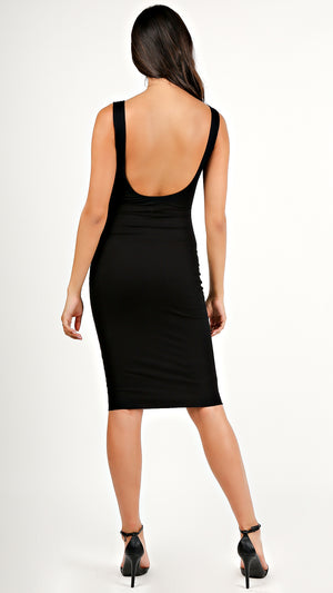 Ribbed Tank Midi Dress...