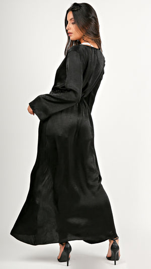 Silky Bell Sleeve Duster...