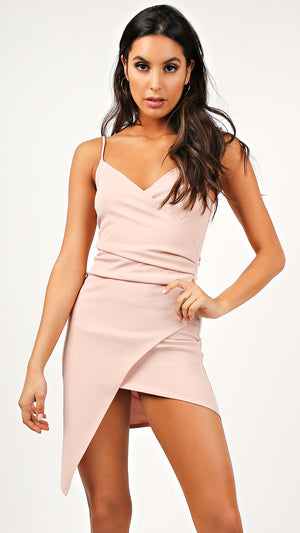 Wrap Me Around Mini Dress