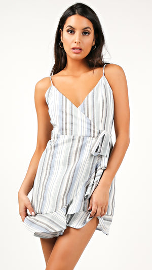 Samantha Ruffle Trim Sun Dress
