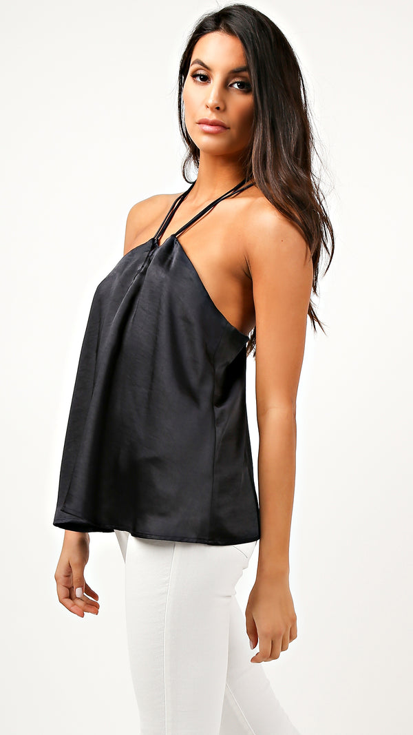 Alissa Halter Neck Top - Msky