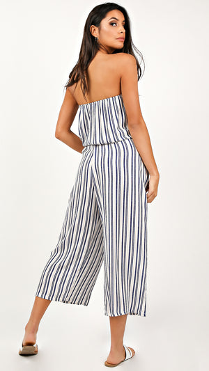 Mallory Striped Jumpsuit
