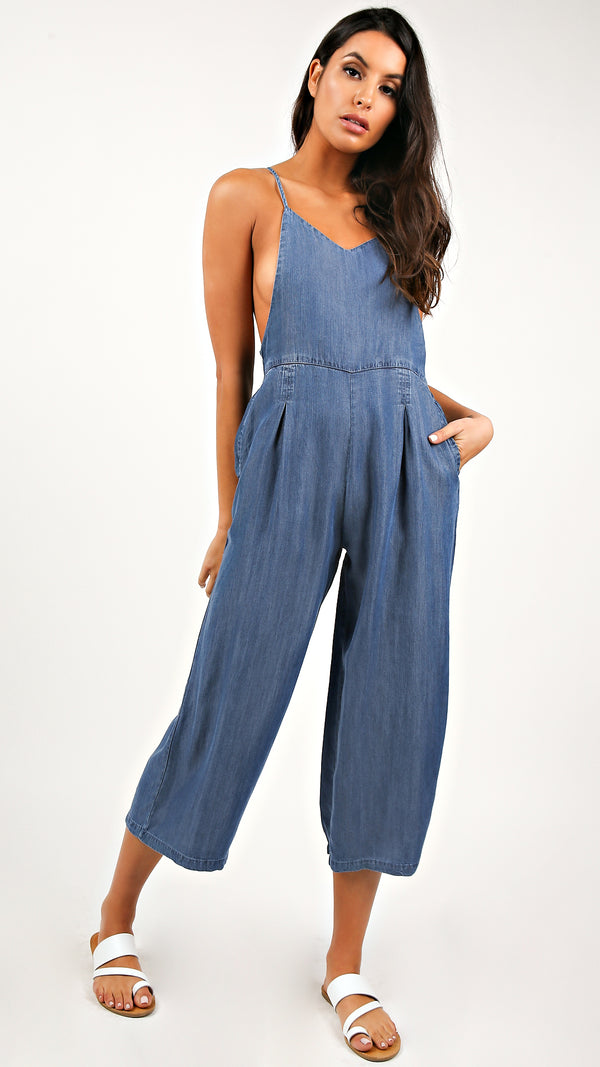 Delaney Wide Leg Jumpsuit - Msky