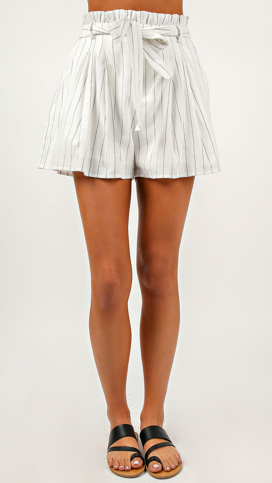 Clean Lines High Waisted Shorts - ANGL