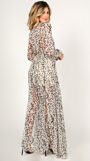 Karina Floral Maxi Dress