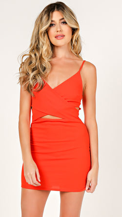 Criss Cross Cami Mini Dress - Msky