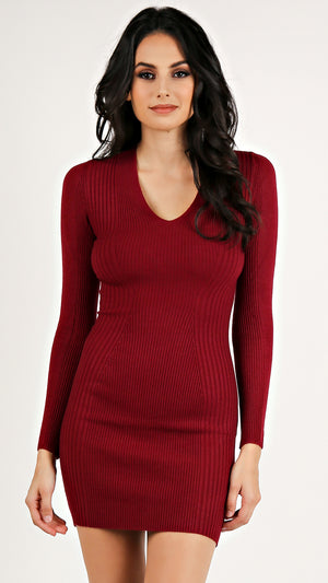 Knit Bodycon Dress...