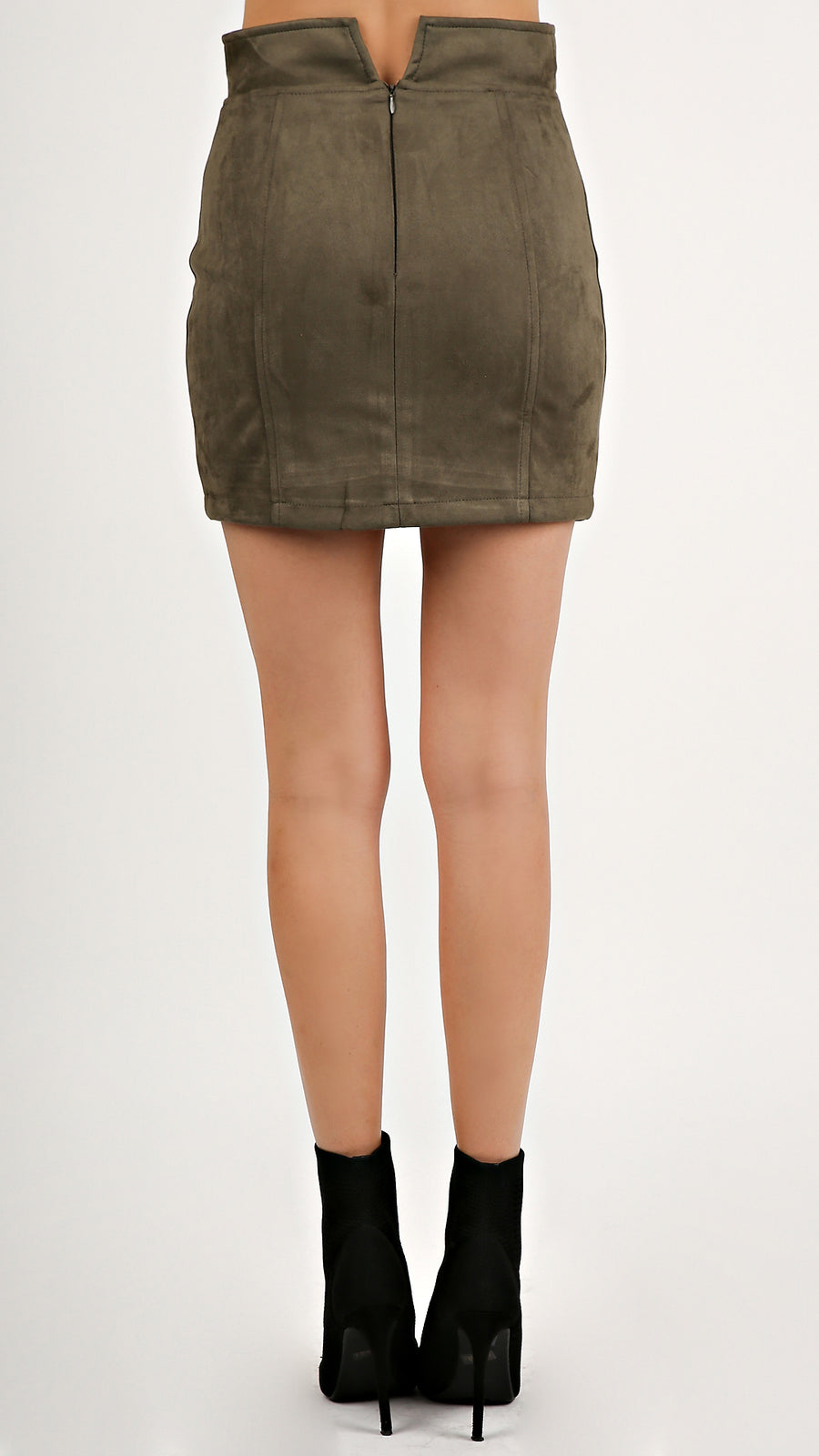 Faux Suede Skirt...