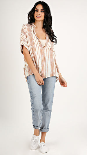 Melody Striped Tee...