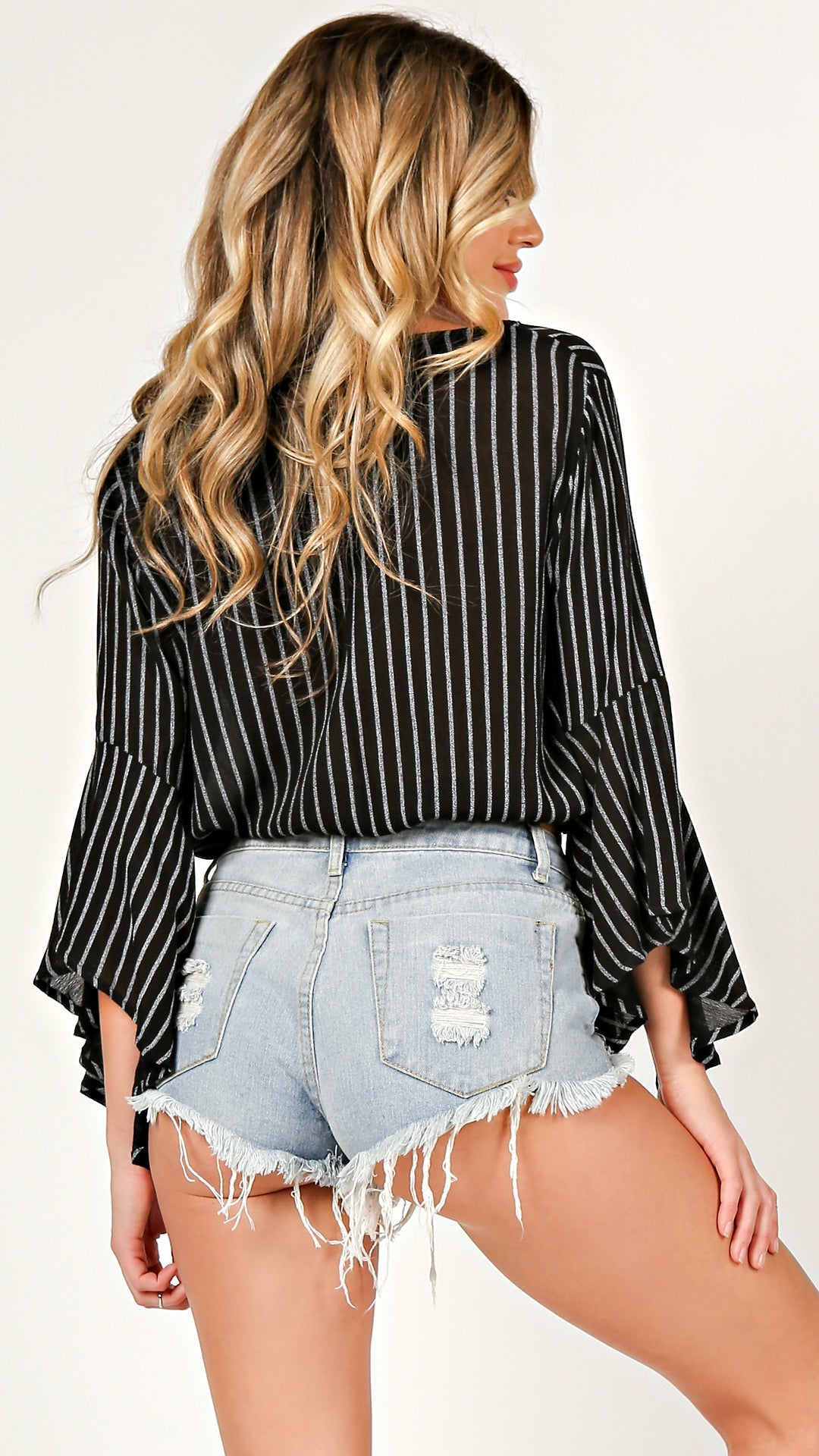 Bella Sleeve Wrapped Top