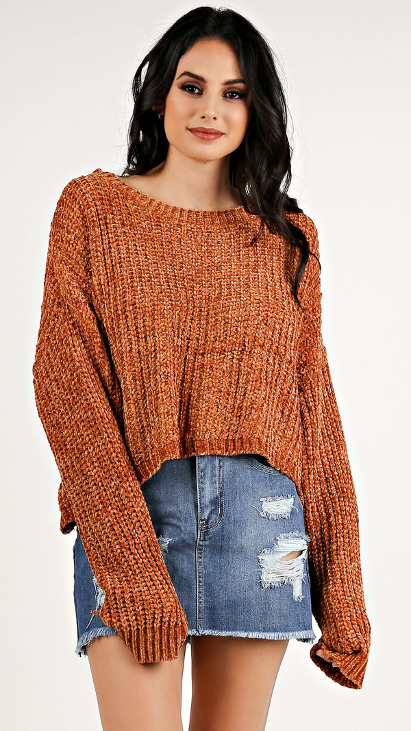 Velvety Yarri Sweater...