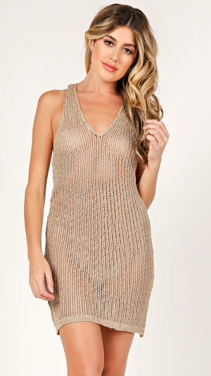 Leah Knit Tank Dress