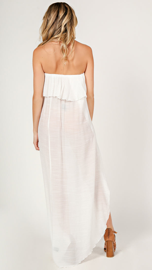 Faith Flounce Maxi Dress - Msky