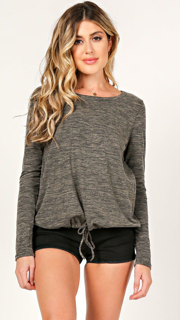 Amy Long Sleeve Top - Msky