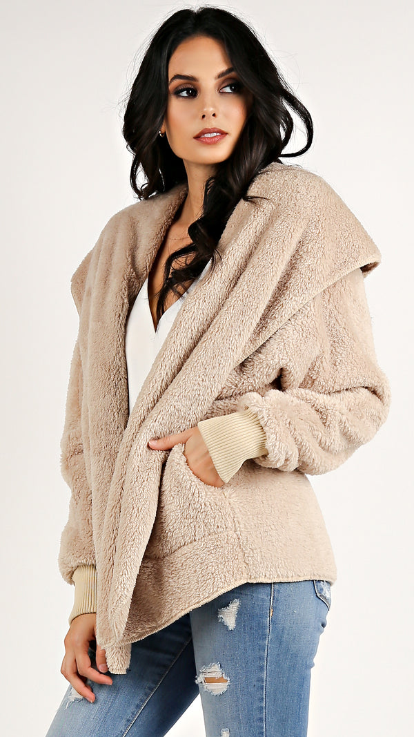 Cozy Fuzzy Jacket... - Msky