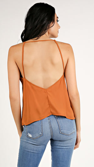 Low Back Cami Top...