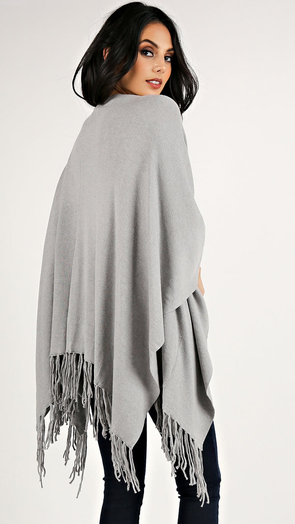Eunice Pocket Shawl... - Msky