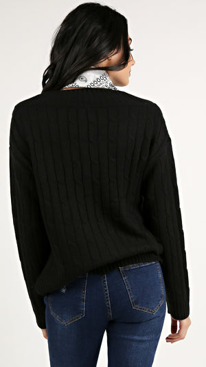 Cable Knit Sweater...