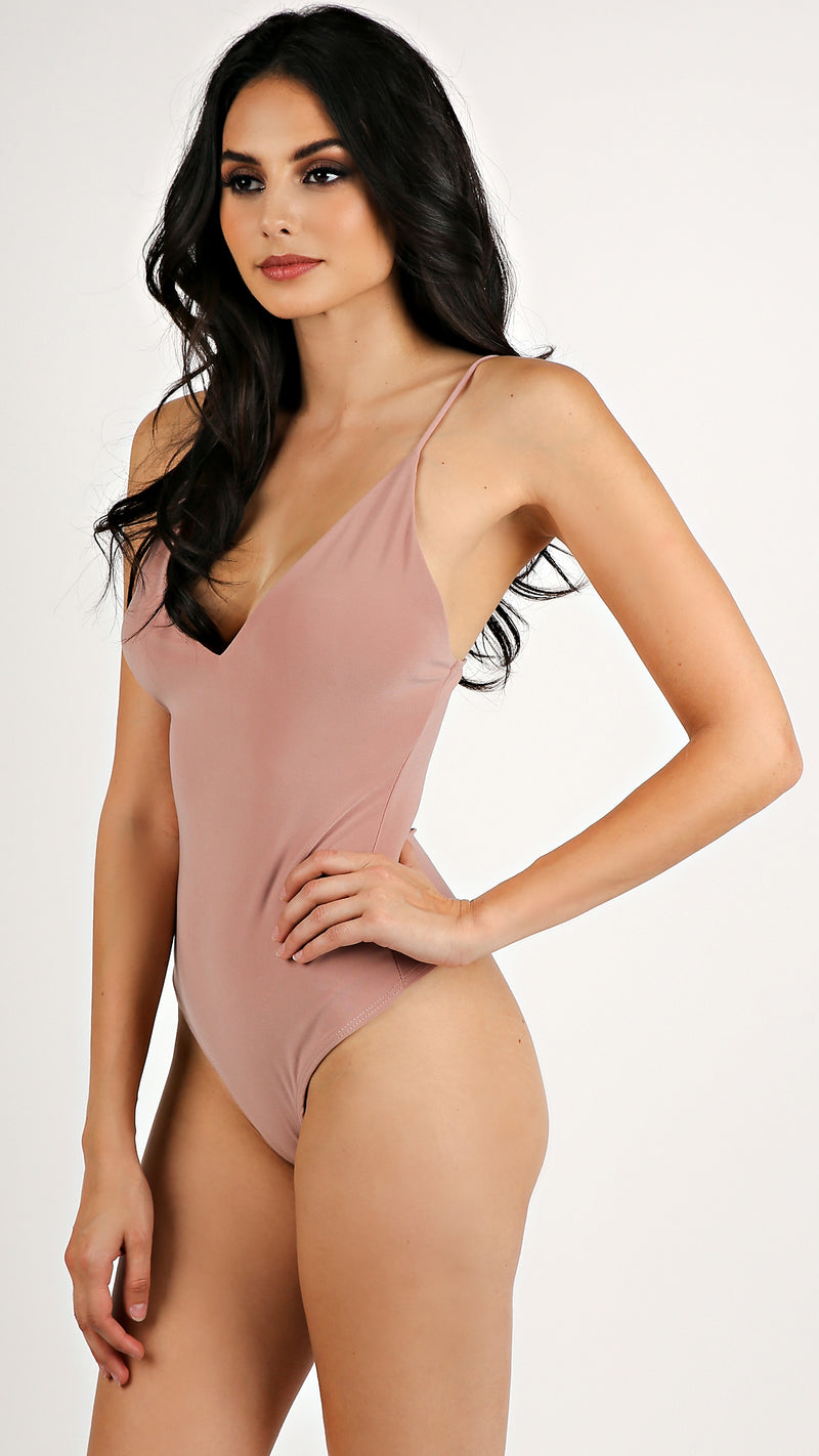 V- Neck Bodysuit...