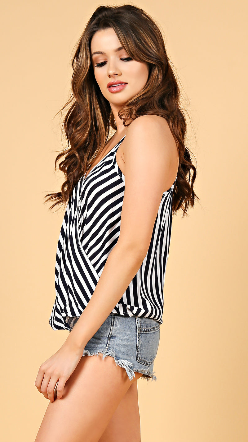 Mallory Striped Tank Top