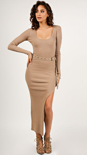 Sexy Ribbed Chloe Dress...