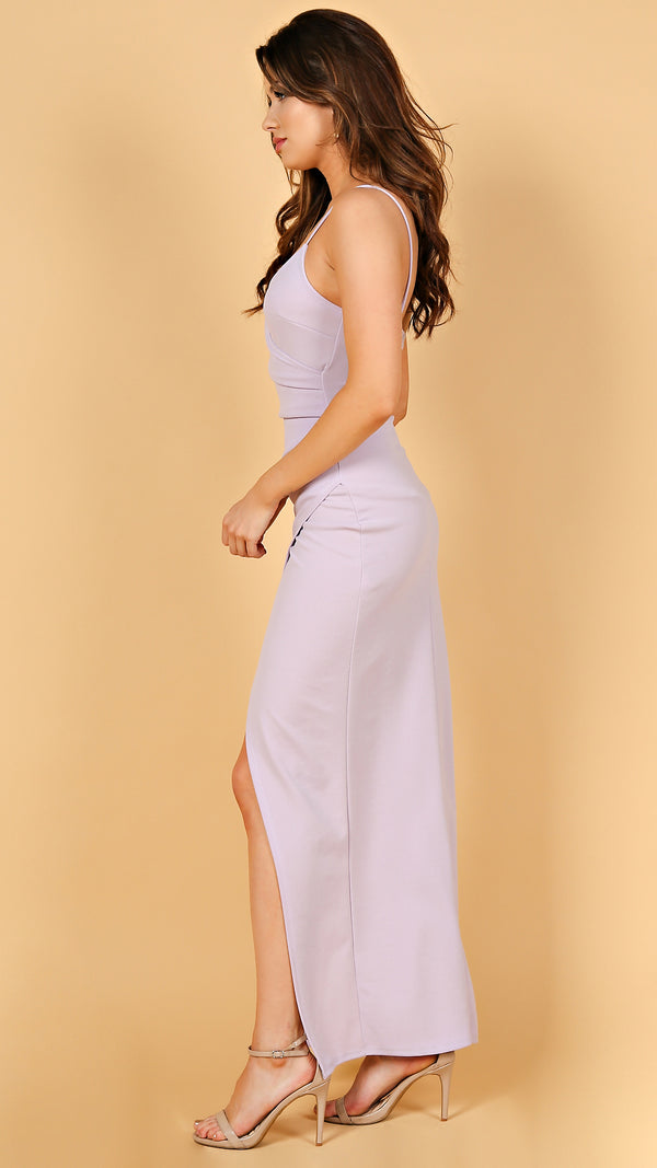 Cara Crossover Maxi Dress - Msky