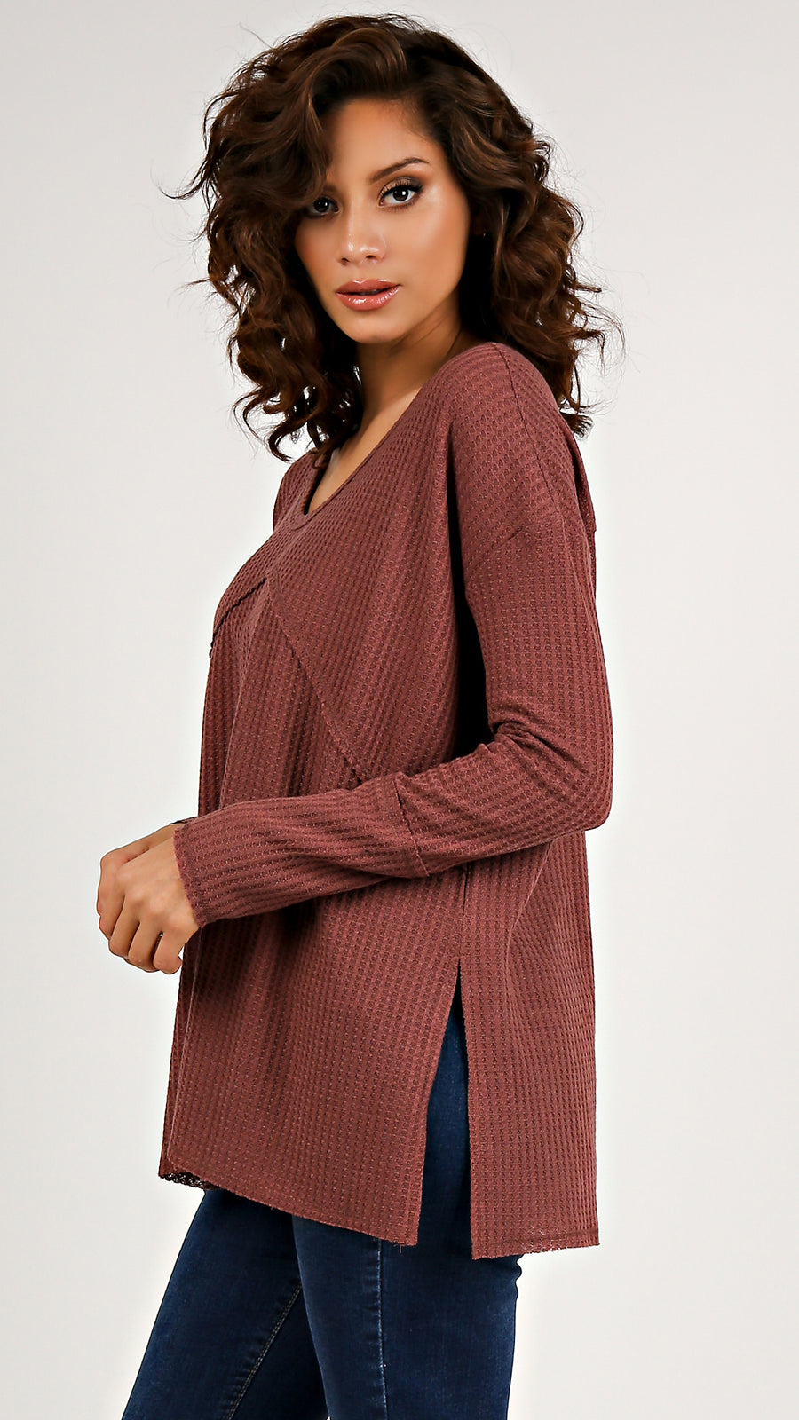 Fall In Line Thermal Top...