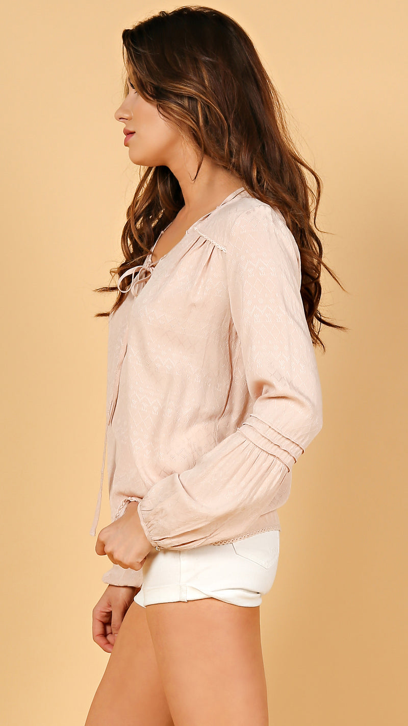 Alexia Long Sleeve Top - Msky