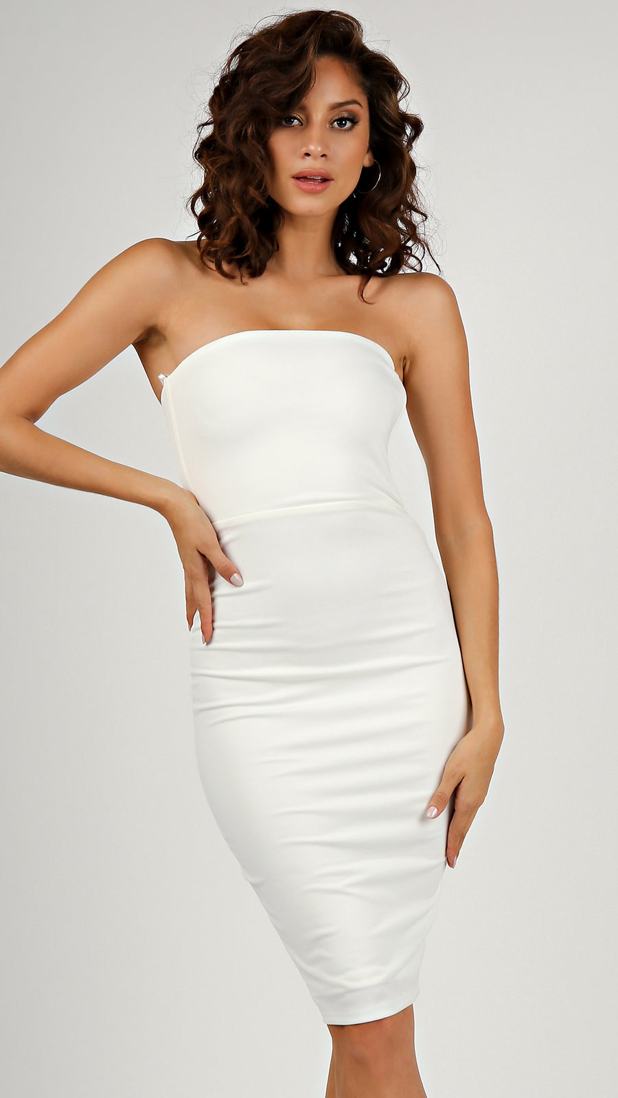 Knit Tube Bodycon Dress