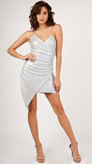 Sold Out Show Sequin Mini Dress...