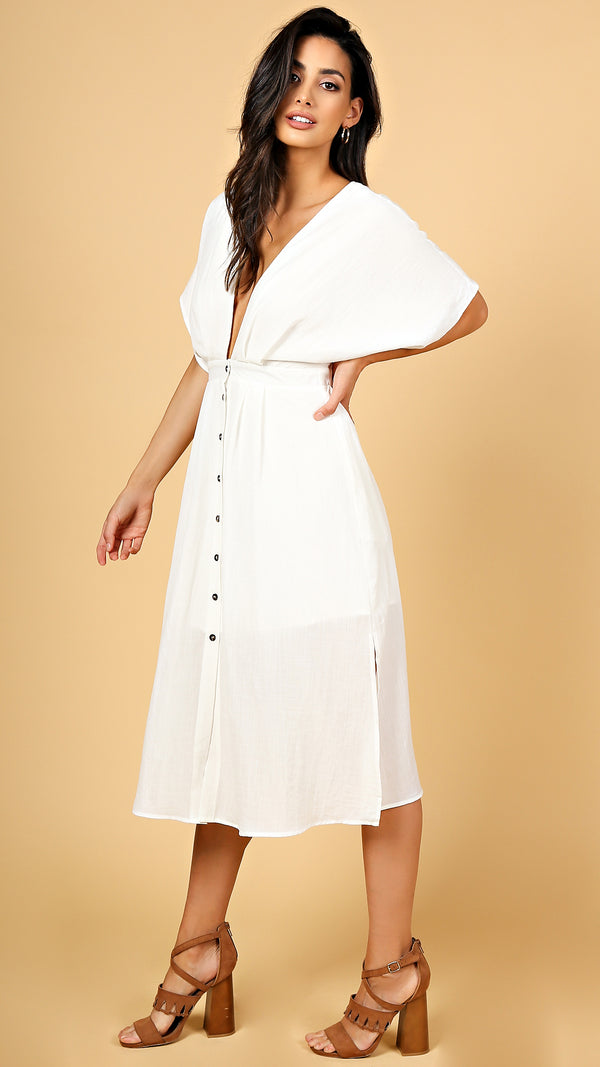 Mandy Button Down Dress