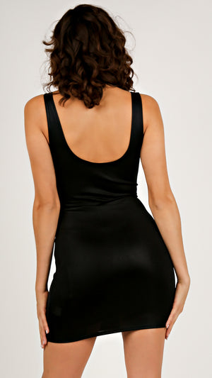 Slinky Little Black Dress