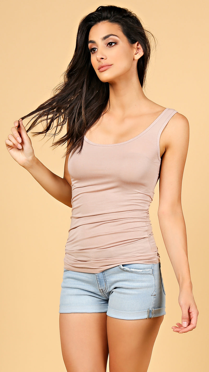Soft & Stretchy Basic Tank Top