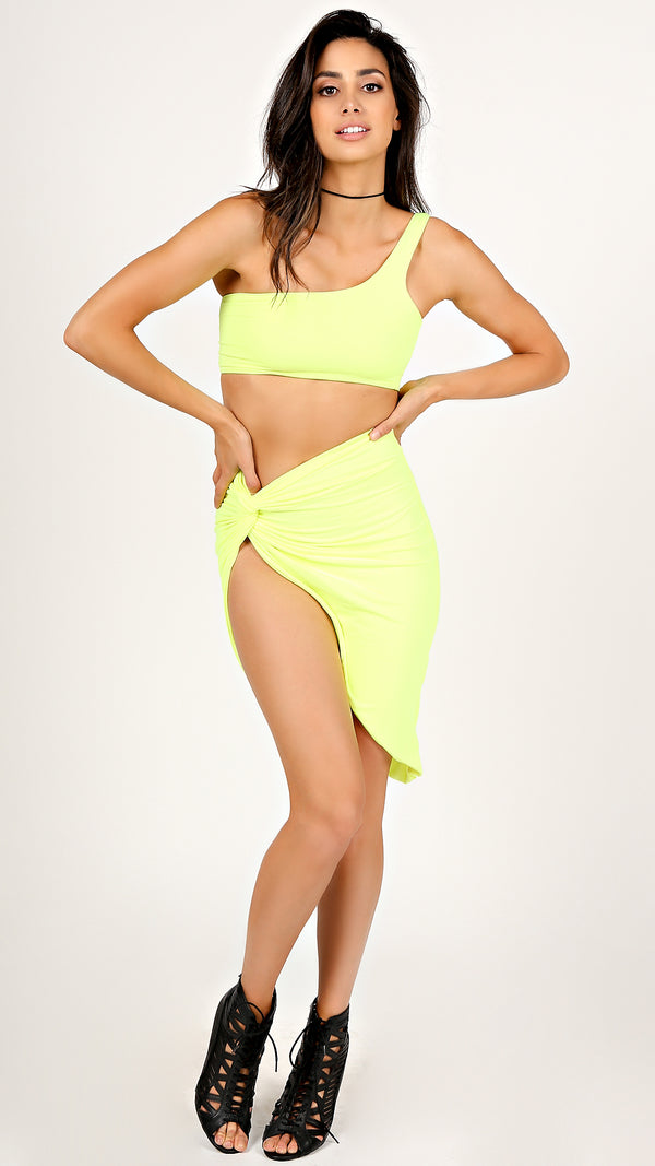 Miami Neon Two Piece Set