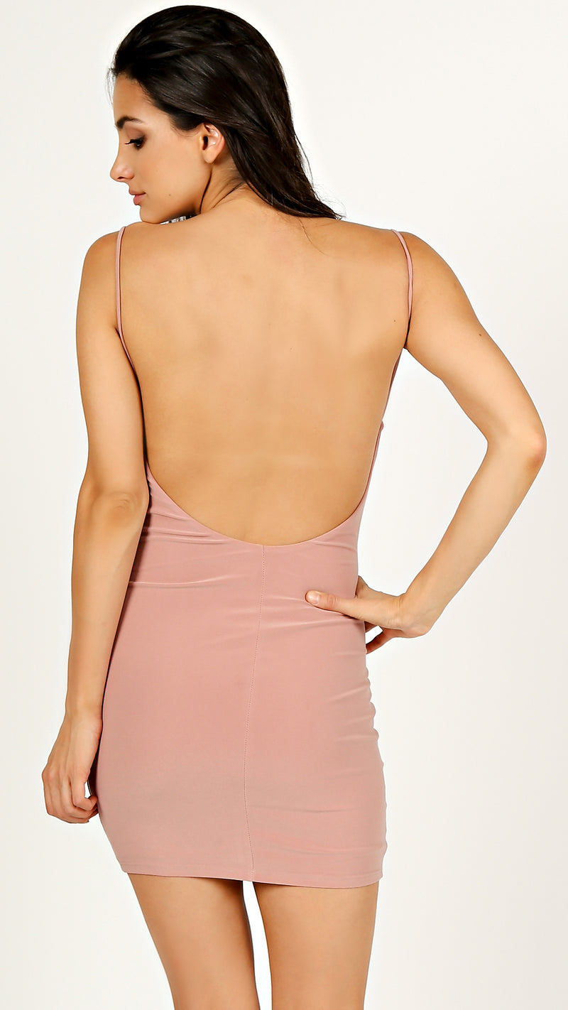 Kara Open Back Dress