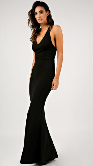 Sleeveless Mermaid Maxi Dress
