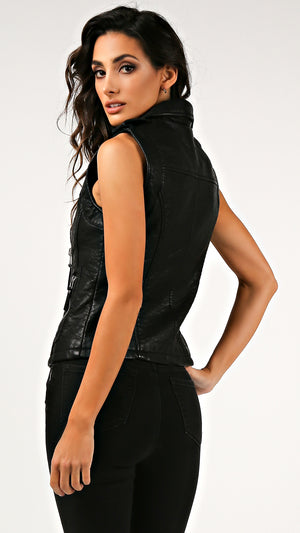 Rocker Leather Vest