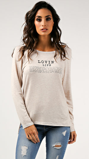 Lovin' Life Long Sleeve Top