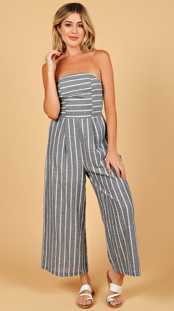 Skylar Striped Jumpsuit