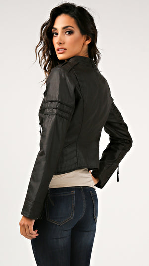 Diesel Coated Detail Jacket
