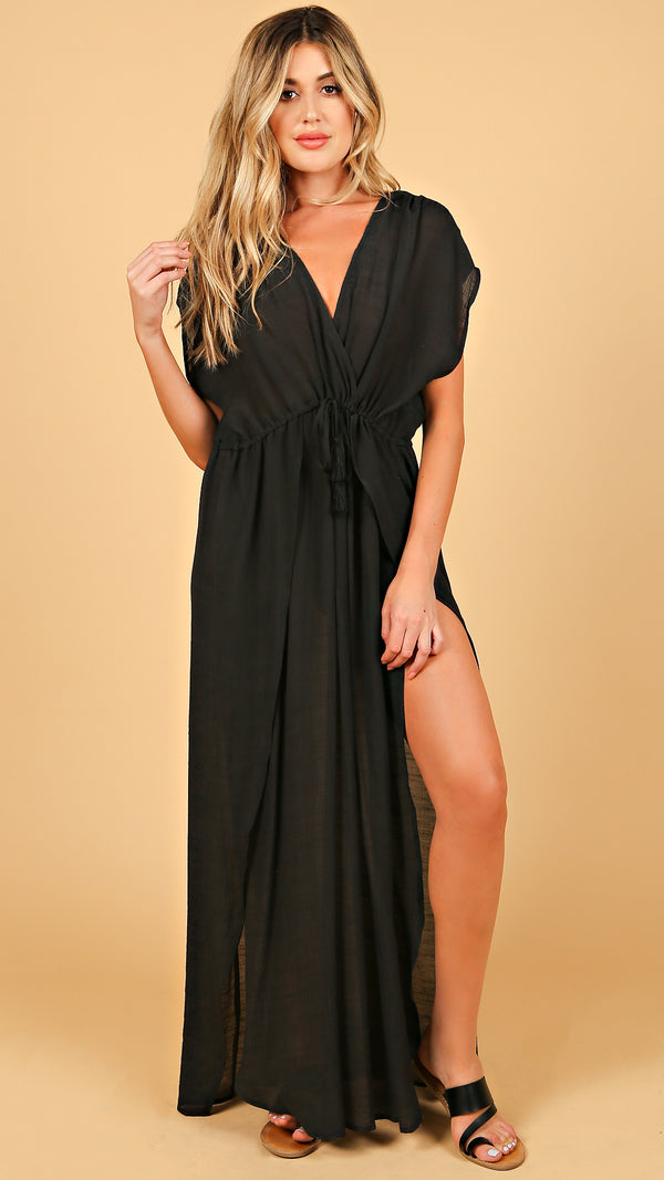 Mykonos Sheer Maxi Dress