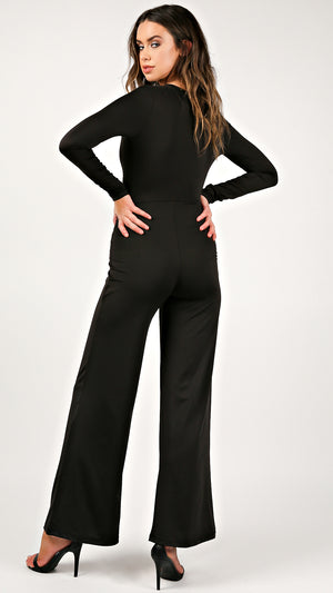 Rubi Front Twist Jumpsuit