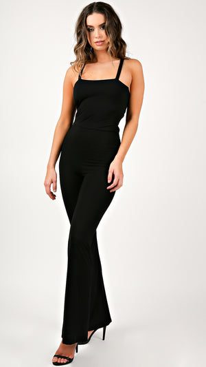 Nicole String Back Jumpsuit