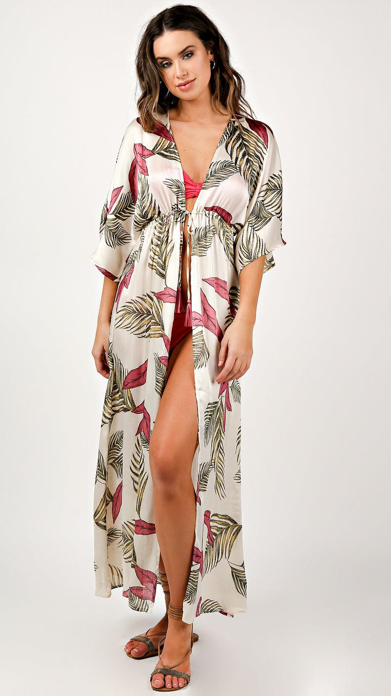 Hawaiian Breeze Cover Up Dress
